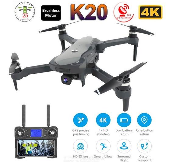 Drone K20 Com Gps Camera 4k