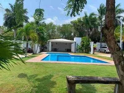 Residencial Bonampak Cancun Casa Renta Excelente Ubicación
