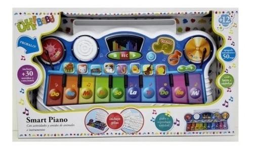Juguete Smart Piano Musical  Ok Baby Con Luz Y Sonido