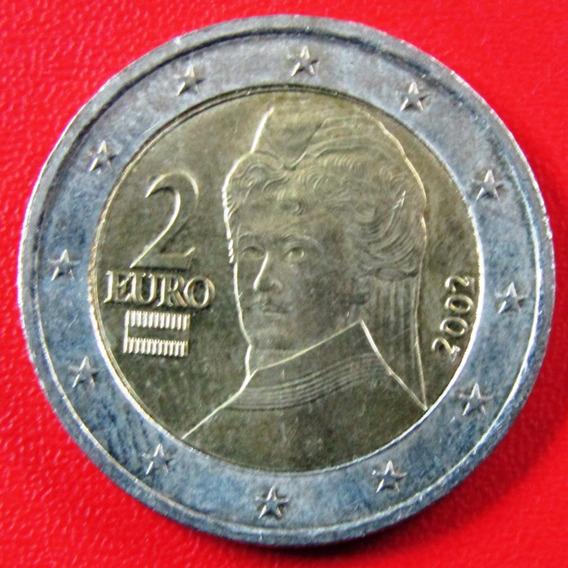 Austria Moneda 2 Euros 2002 Unc Km #3089
