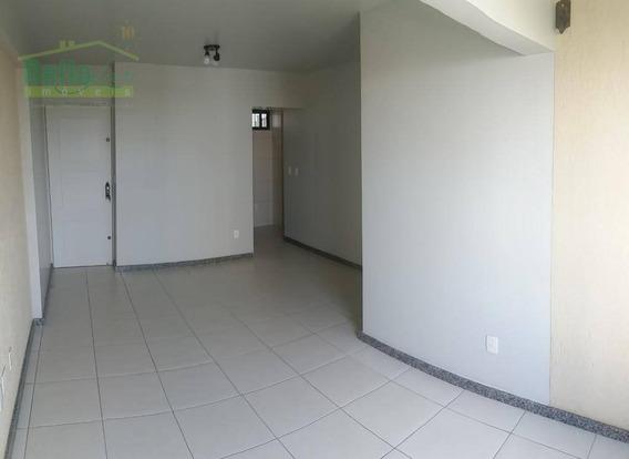 Apartamento Com 2 Quartos + 1 Para Alugar, 63 M² Por R$ 1.390 + Taxas - Rosarinho - Recife/pe - Ap0563