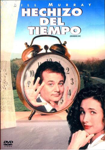 Dvd Hechizo Del Tiempo ( Groundhog Day ) 1993 - Harold Ramis