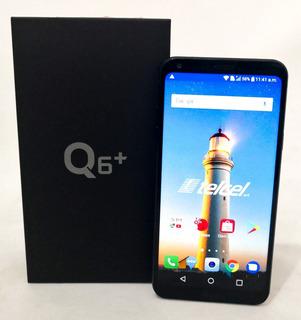 Teléfonos Celulares Baratos Lg Q6 Plus Telcel 64gb Negro (m)