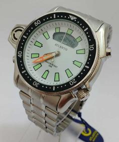 Relógio Atlantis Barato Masculino A Prova D