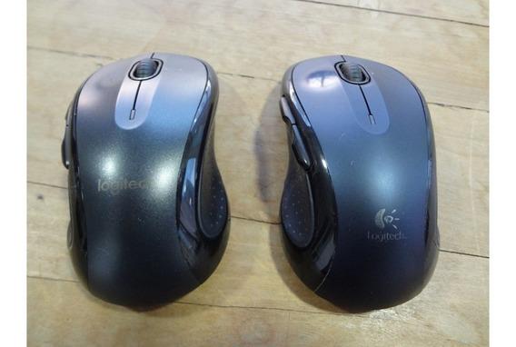 Mouse Sem Fio Logitech M510 Azul / Preto