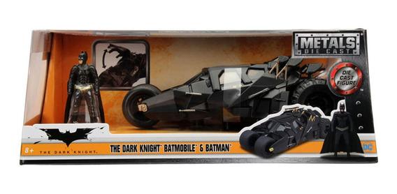 Vehiculo Metals Dc Batimovil The Dark Knight 2008 Esc. 1:24