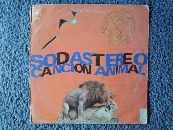 Caja De Vinilo Soda Stereo Cancion Animal