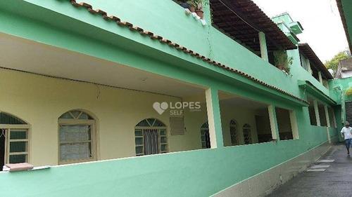 Imagem 1 de 6 de Casa Com 3 Quartos,  600 M² Por R$ 2.000.000 - Colubande - São Gonçalo/rj - Ca12226