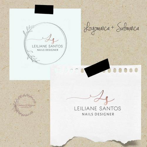 Imagem 1 de 3 de Logomarca + Submarca
