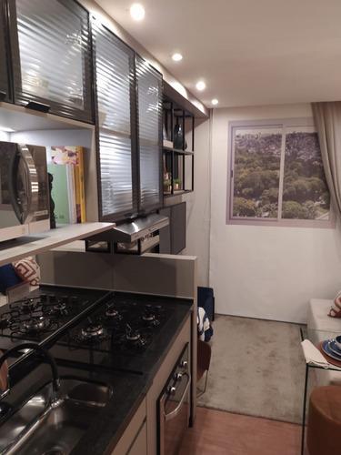 Imagem 1 de 15 de Apartamento Com 1 Quartos, 26m2, À Venda - Parque Maria Helena - São Paulo - 036