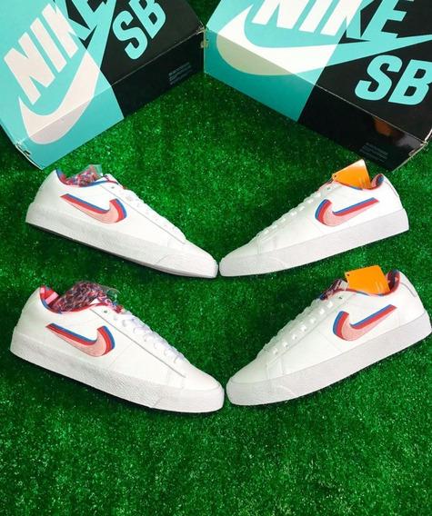 Tênis Parra X Nike Blazer *nmd, Yeezy, Jordan, Ultraboost*