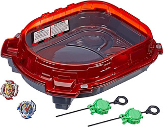Beyblade Burst Turbo Slingshock Rail Rush Estadio Original