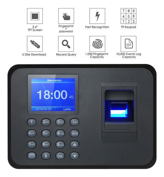 Máquina Biométrica 2,4 Do Comparecimento Da Impressão Digit