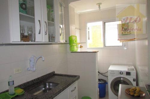 Apartamento À Venda, 47 M² Por R$ 150.000,00 - Aviação - Praia Grande/sp - Ap2928