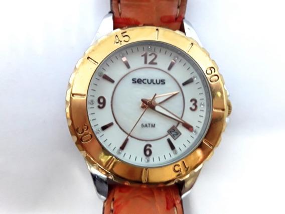 Relógio Seculus 24773losfns1 Semi Novo