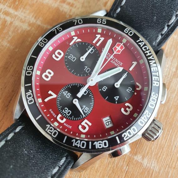 Relógio Victorinox Swiss Army Chrono Classic Original