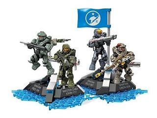 Mega Construx De Halo Último Equipo Azul Conjunto De Constru