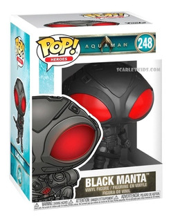 Funko Pop Black Manta 248 Aquaman Original Scarlet Kids