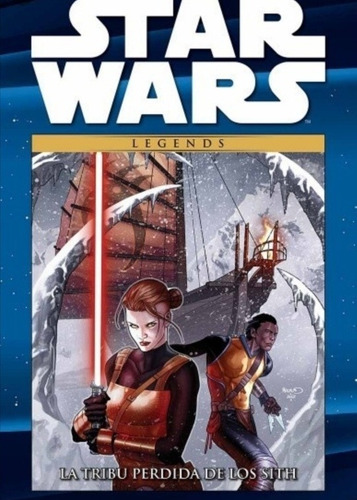 Imagen 1 de 3 de Novela Gráfica  D Star Wars La Tribu Perdida De Los  Sith