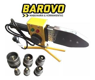 Termofusora Termofusionadora 800w +6 Boquillas+maletin Metal