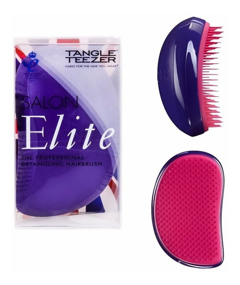 Escova Tangle Teezer Salon Elite Purple + Brinde