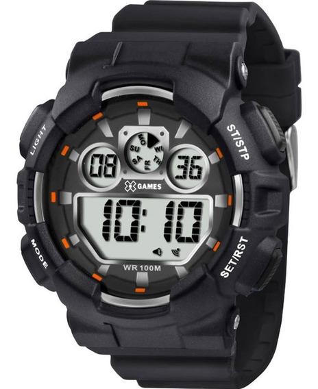 Relógio X-games Masculino Xport Preto Xmppd345 Bxpx Orginal