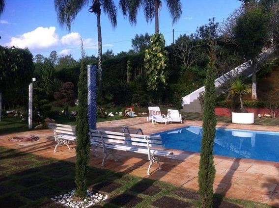 Chácara Residencial À Venda, Jardim Dos Pinheiros, Atibaia. - Ch0007