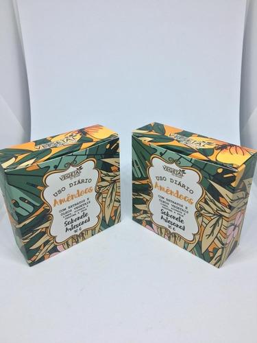 Sabonete De Amendoas Flora Pura 3 Uni
