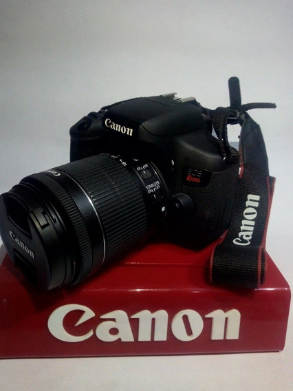 Canon T6i Kit 18-55m +bolsa