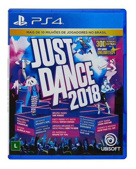 Just Dance 2018 - Ps4 Midia Física Lacrada
