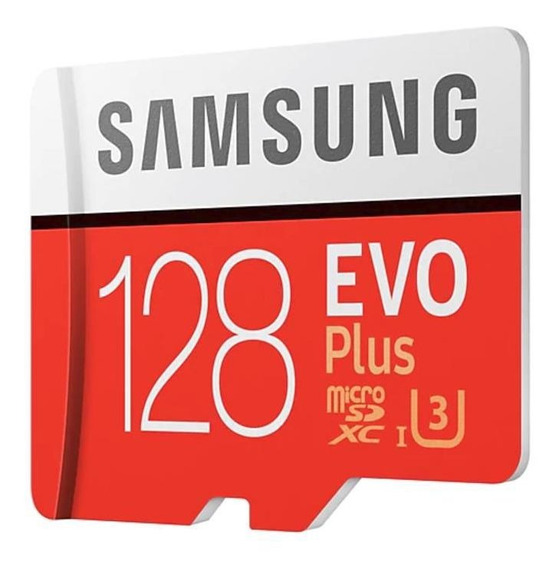 Cartão Micro Sd Sdxc Samsung Evo Plus 128gb 100mb/s U3 4k