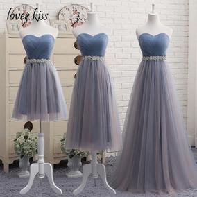 c73b349698 Vestido Dama Honor Color Azul Turquesa - Vestidos de Mujer en ...