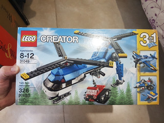 Lego Creator 31049 Helicóptero De Doble Hélice !!!!!!