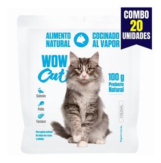 Wow Cat Comida Natural Gatos - kg a $28000