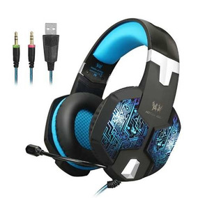 Fone Ouvido Headset Gamer Usb Microfone Kotion G2000 Para Pc