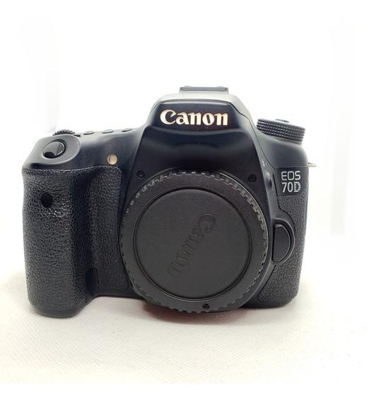 Camera Canon Eos 70d + Lentes