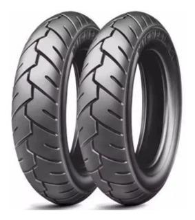 Par Pneu Suzuki Burgman 125 Michelin 350-10