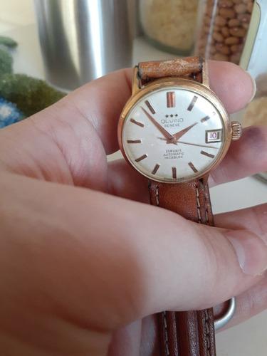 Relógio Olvino Geneve 25 Rubis - Antigo