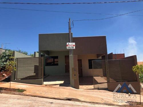 Imagem 1 de 19 de Casa À Venda, 73 M² Por R$ 190.000,00 - Jardim São Paulo Ii - Londrina/pr - Ca1084