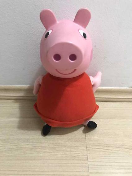 Peppa Pig Cabeça Em Vinil