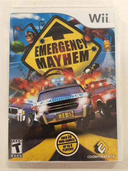 Emergency Mayhem Nintendo Wii