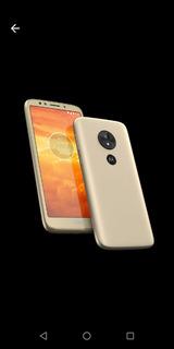 Celular Moto E 5 Play Usando