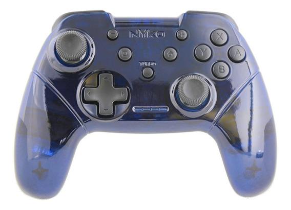 Control joystick Nyko Wireless Core Switch azul/blanco
