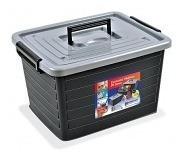 Carrinho Caixa Para Ferramentas Container Organizador 35lt C