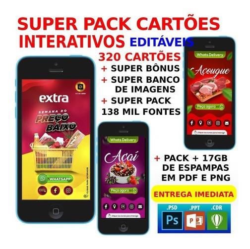 Cartão Virtual Interativo + Bônus E Entrega Imediata Grátis