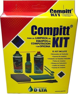 Kit Limpieza Monitores Pc Notebook Y Oficina 7 Productos !!