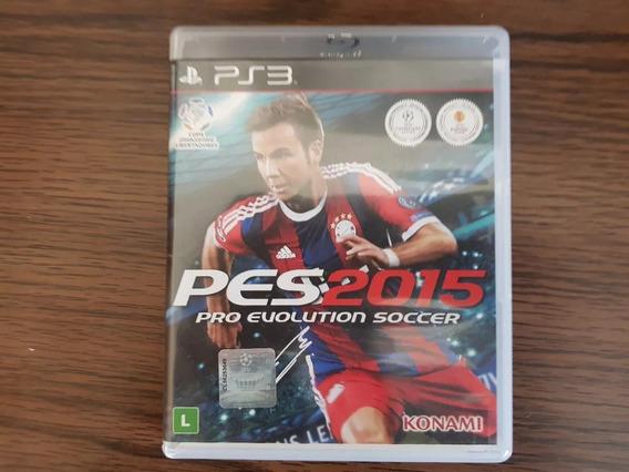 Pes 2015 Playstation 3 Ps3 Mídia Física Original