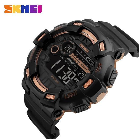 Relógio Masculino Skmei 1243 Dual Time Esportivo Original
