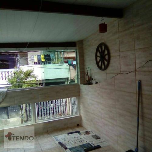Imagem 1 de 26 de Imob01 - Sobrado 243 M² - 3 Dormitórios - Cooperativa - São Bernardo Do Campo/sp - So0108