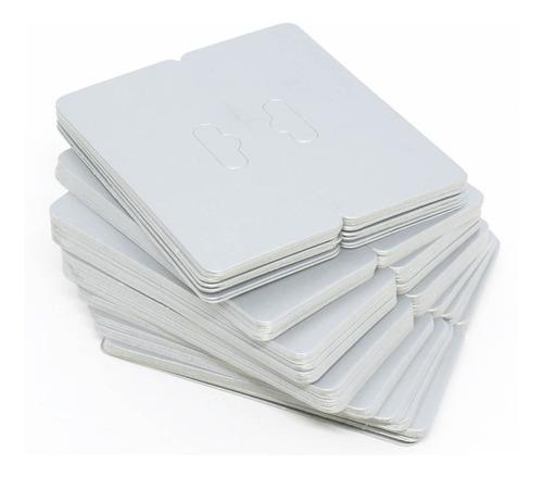 1000 Solapas De Papel Para Joias  - 8 X 9 Cm